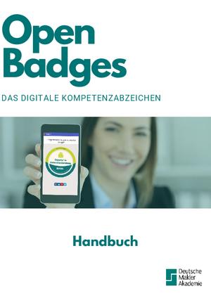 Handbuch Open Badges Deutsche Makler Akademie
