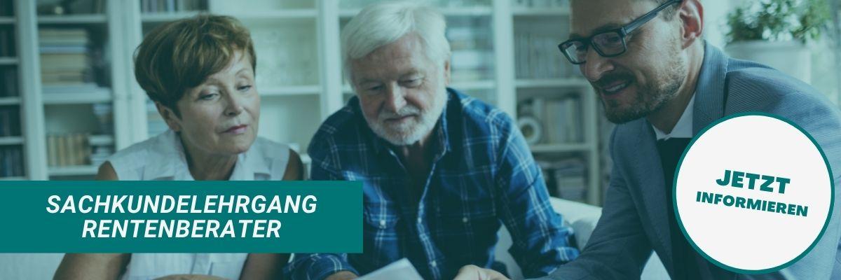 Sachkundelehrgang Rentenberater