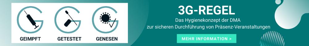 3 G Regeln - Hygienekonzept der Deutschen Makler Akademie