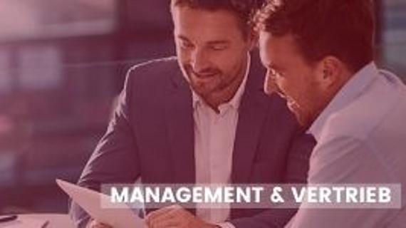 Online-Weiterbildungen im Fachbereich Management & Vertrieb